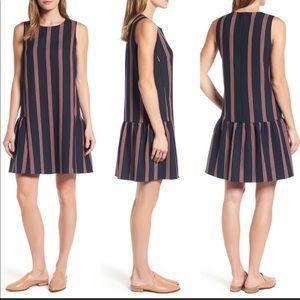 Halogen Flounce Back Shift Dress